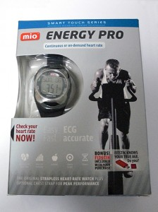MIO Energy Pro Plus Heart Rate Monitor Watch with FitStik